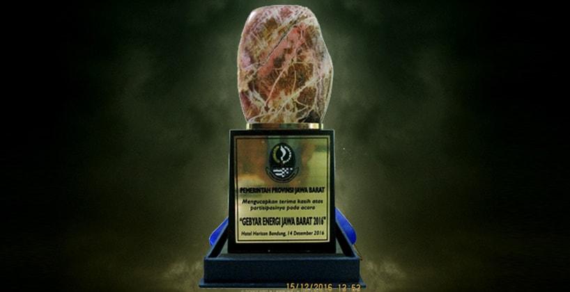 Penghargaan pada acara Gebyar Energi 2016