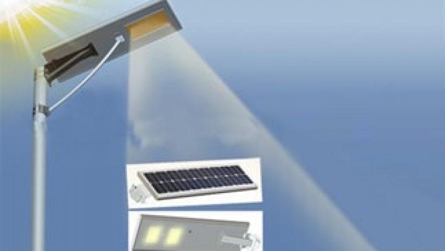 Lampu Penerangan Umum Tenaga Surya