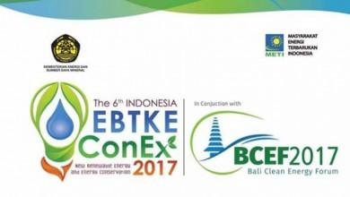 Indo EBTKE ConEx dan Forum Energi Bersih Bali 2017